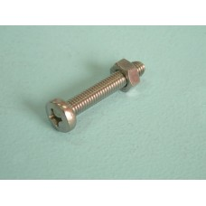 Pan Head Bolt & Nut (Rail Clamp)
